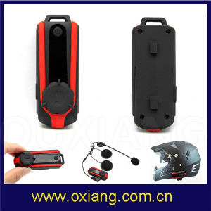 Motorbike Helmet Bluetooth Intercom Headset 800m GPS and MP3 pictures & photos