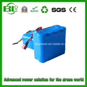 14.8V 20A 4s2p 6000mAh Li-ion Battery Pack Power Tool pictures & photos