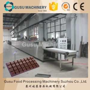 Ce China Top Quality Gusu Center-Filling Chocolate Moulding Machine (QJJ175) pictures & photos