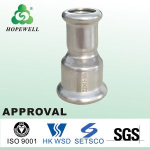 Top Quality Sanitary Stainless Steel 304 316 Male Female Threaded Reducer pictures & photos