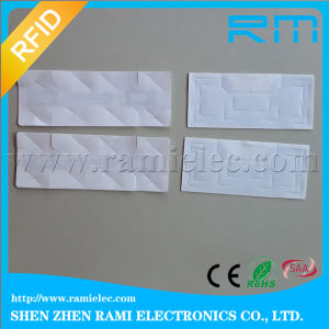 Windshield RFID UHF Anti-Dismantle Sticker Tag for Parking Lots