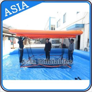 Personal Portable Inflatable Swimming Pool Enclosure, Portable Jellyfish-Safe Floating Swimming Pool pictures & photos