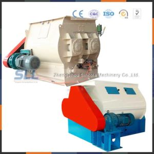 Small Double Shaft Paddle Mortar Mixer Construction Paddle Mixer pictures & photos