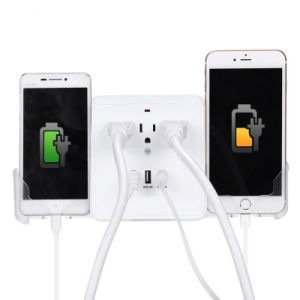 Charging Outlet with 3.1A Triple USB Ports 3 AC Plugs pictures & photos