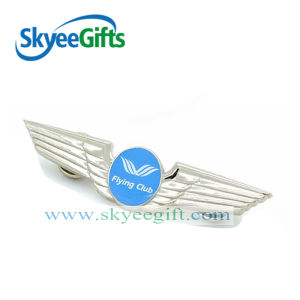Safety Pin Wing Shape Badge for Clothes pictures & photos