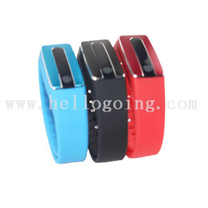 LED Smart Healthy Selicone USB Watch Bracelet for Headset pictures & photos