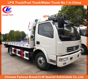 Dongfeng 6 Wheeler Tow Truck in 5ton Accident Recovery Truck pictures & photos