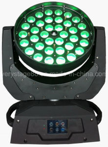 36PCS 10W RGBW 4in1 Zoom Wash LED Moving Head pictures & photos