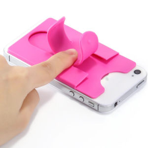 Phone Decoration One Touch Design Eco-Friendy Silicone Phone Stand pictures & photos