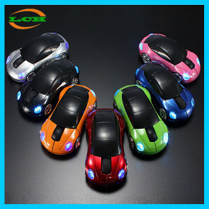 Spot Goods 2.4gz Colorful Little Car Molding Wireless Mouse pictures & photos