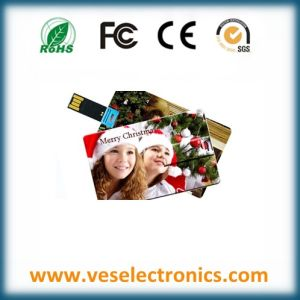 Gift USB Credit Card USB Memory 1GB USB Flash Drive pictures & photos