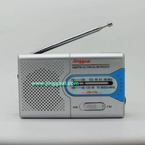 Pocket Am/FM 2 Band Radio pictures & photos