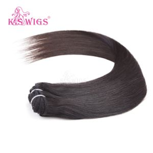 100% Unprocessed Indian Human Hair pictures & photos