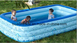 Polyester PVC Coated Fabric for Swimming Pool Tb091 pictures & photos
