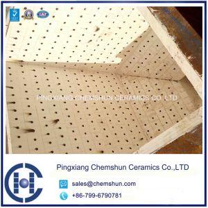 Alumina Ceramic Lining Tile for Alumina Ceramic Lined Hopper pictures & photos
