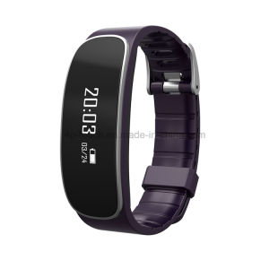 IP65 Bluetooth 4.0 Smart Bracelet with Heart Rate Monitor (H29) pictures & photos