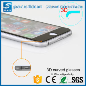 3D Full Cover 0.3mm Curved Edge Glass Screen Protector for Samsung S6 Edge pictures & photos