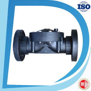 Plastic Black 2 Way 2 Position Valve with Ball Valve pictures & photos