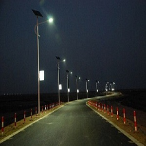 Ce Approved IP68 7m 30W LED Solar Street Light (DZS-07-30W) pictures & photos