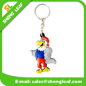 Customized Requirements Fancy 3D Rubber Key Chain (SLF-KC022) pictures & photos