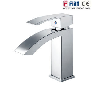 Popular Single Lever Basin Mixer Brass Basin Faucet pictures & photos