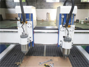 Double Spindles CNC Router Wood Furniture Making Machine pictures & photos