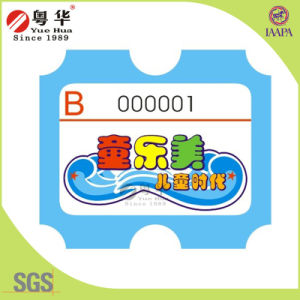 Good Quality Custom Redemption Ticket for Arcade Machine pictures & photos