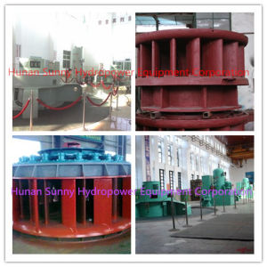 Kaplan Hydro (Water) Turbine-Generator 4-12 Meter Head Zzk02 /Hydropower /Hydroturbine pictures & photos