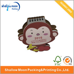 2016 Cute Monkey Year Wholesale Paper Calendar (QY150079) pictures & photos