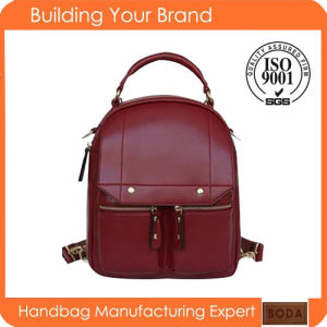 Wholesale Fashion PU Rivet Backpack (BDM016) pictures & photos