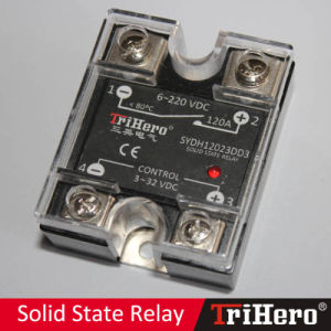 120A DC/DC Single Phase Solid State Relay SSR pictures & photos