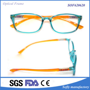 Italy Design Tr90 Transparent Frame Plastic Eyeglasses pictures & photos
