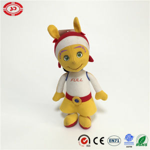 Plush Cute Nylon Fabric Stuffed Cotton Alien Toy Baby Doll pictures & photos