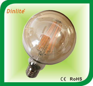 Hot selling globe G95 6W e27 LED filament bulb pictures & photos
