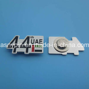 UAE 44th National Day Metal Badge with Magnet pictures & photos