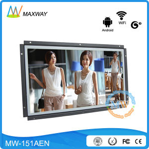 Open Frame Advertising Android 15.6 Inch TFT LCD Digital Signage pictures & photos
