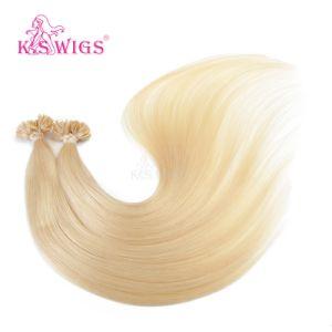 Natural Flat-Tip Russian Keratin Remy Human Hair Extension pictures & photos