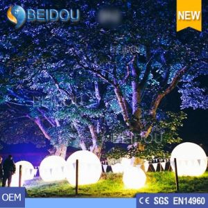 Inflatable LED Balloons Hanging Custom Inflatable Balloon Christmas Balls Decorations pictures & photos