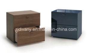 Italian Modern Wooden Nightstand Night Table (SM-B25) pictures & photos