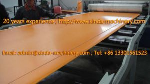 PVC Foam Board Sheet Plate Production Line Board