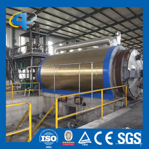 Environmental Waste Rubber Convert to Oil Pyrolysis Plant pictures & photos
