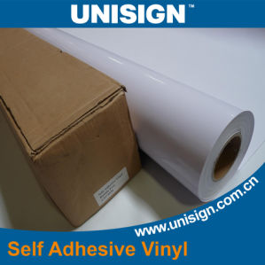Waterproof Self Adhesive Vinyl Sticker Rolls for Solvent and Eco-Solvent Printing pictures & photos