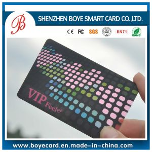 Colorful and Cheap Transparent Menbership Card pictures & photos
