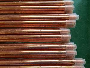 Copper Bonded Earth Rod Threaded or Pointed Directly From Factory pictures & photos
