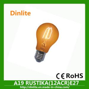 A19 E27 vintage decorative light bulb pictures & photos