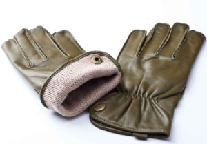 Men′s Fashion Warm Leather Motorcycle Driving Gloves (YKY5177) pictures & photos