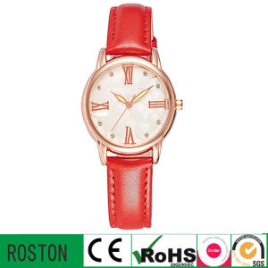 Fashion Lady Watch with Leather Band