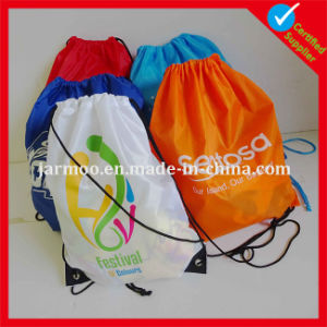 Promotional Printing Durable Drawstring Bag pictures & photos