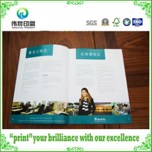 Saddle Stitching Softcover Paper Promotion Printing Book pictures & photos