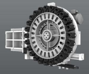 High Rigidity CNC Machining Center Vmc, Bottle Mould Processing (EV850M) pictures & photos